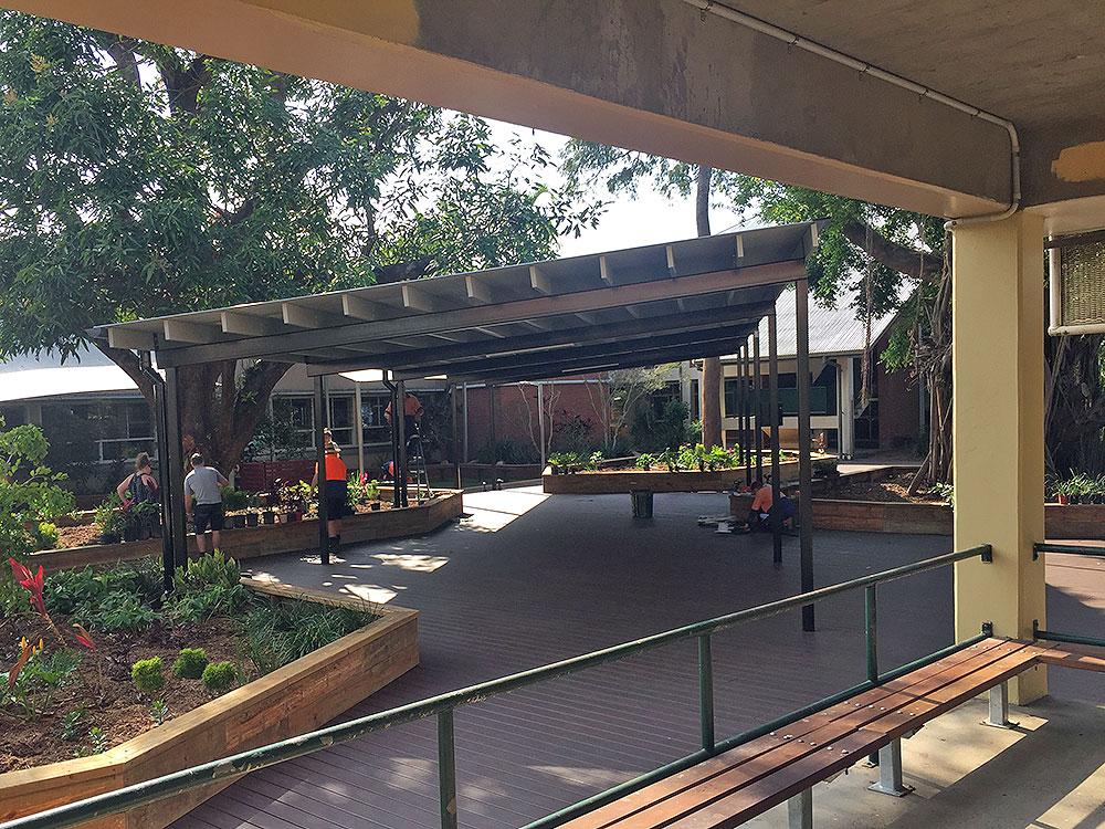 Electrical Installation: Cairns State High School Deck Lighting