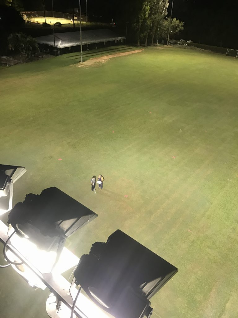 Saints Hockey Club – Field Lighting Installation